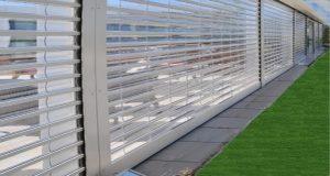 کرکره شفاف(پلی کربنات)